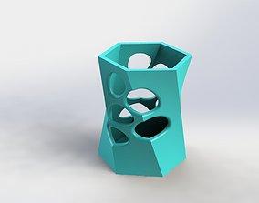 DEcorative Flower Pot 29 3D printable model