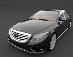 3D model Mercedes-Maybach S600 Black