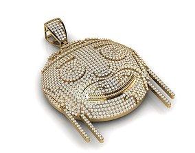 3D print model Happy Face pendant
