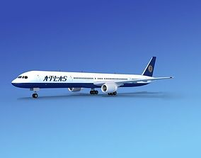 3D Boeing 757-300 Atlas Air