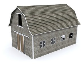 3D model Simple Barn