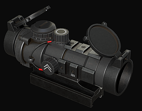 Barris AR Scope 3D model