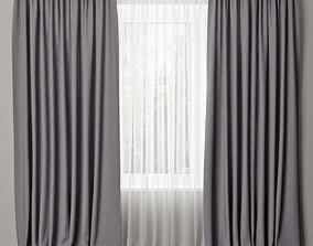 curtain 20 3D model