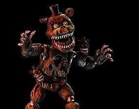 3dprint Nightmare Freddy 3D model for printing
