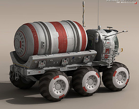 Lunar vehicle tanker 3D model
