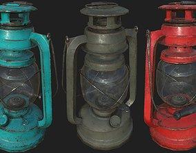 Oil Lanterns PBR 3D model