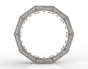 New Design Jewelry Ring 3D printable model