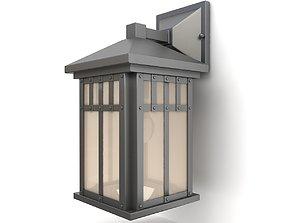 3D Outdoor wall lantern 24