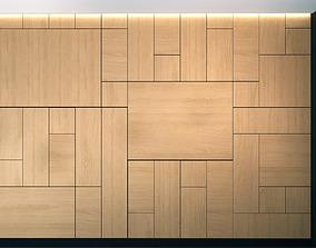 Wall Panel Set 12 3D model