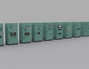 3D asset electrical-panels