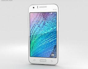 3D Samsung Galaxy J1 White