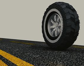 Paperweight Wheel 3D print model