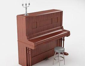 Piano 3D model piano