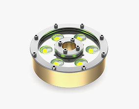 DTS LED Underwater Donut 6 FC 3D model spotlight