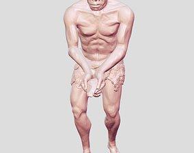 primitive man 3D print model