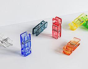 Plastic Clothespin Peg 3D