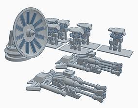 Star Wars Millennium Falcon Accessory Pack 3D print model