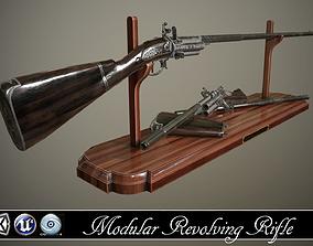 realtime Flintlock Modular Revolving Rifle - model and