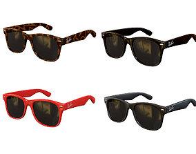 Ray-Ban Wayfarer Sunglasses 3D asset