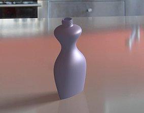 3D model house Bottle