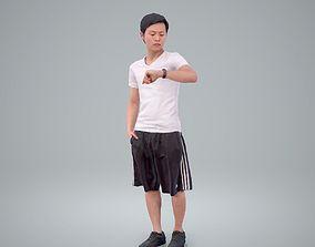 Man Looking at His Watch SMan0212-HD2-O01P01-S 3D model