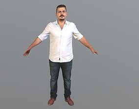 Rt045 - Male T-Pose A-Pose 3D