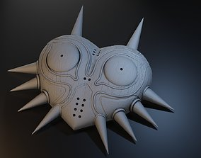Majora Mask inspired by The Legend of 3D printable model 2