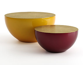 Meridiani - Bongo Coffee Table 75x38cm 3D