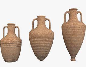 3D model Amphoras Pack Low Poly