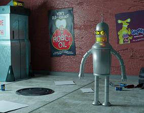 Bender 3D asset