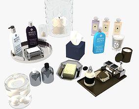 3D Bathroom Decorative Set