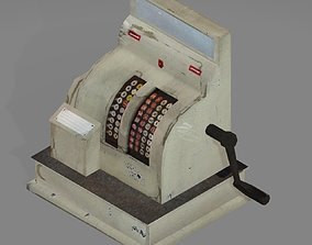 Mechanical Cash Register 3D model