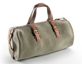 Canvas Holdall Bag 3D model