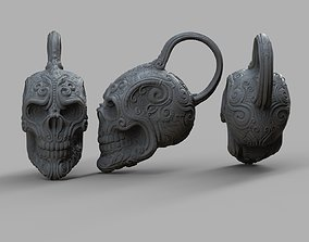 3D print model Skull necklace and decorative