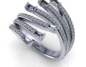 Precious Ring R32 3D print model