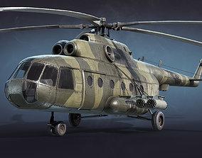 Mi-8 Military 3D model