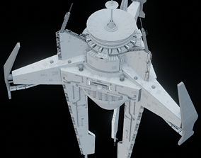 Imperial Long-distance Communication Station 3D