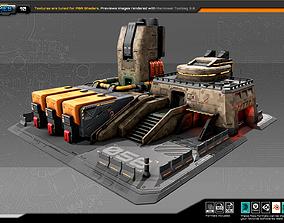 3D model RTS Factory - 10