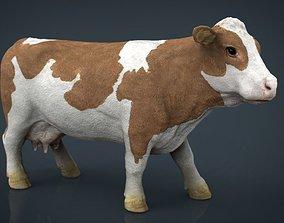 Cow 2 3D asset