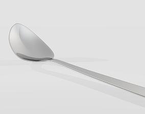 3D print model stainless steel Spoon