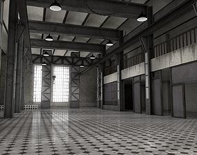 3D model Abandoned Power Plant