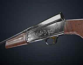 Browning Auto 5 3D model