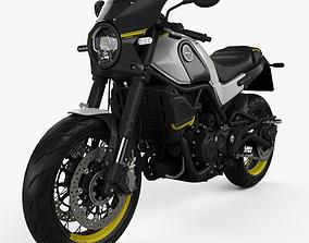 Benelli Leoncino 500 Sport 2018 3D