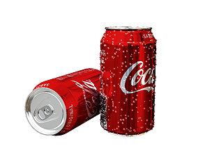 Coca-Cola Can beer 3D model
