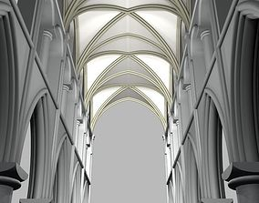 architectural 3D Structure cathedral