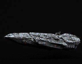 Galactic Empire Spearhead-class Corvette 3D