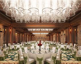 3D model interior Caobang Hotel Assembly Room