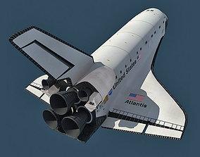 5 Space Shuttle Textures 3D model