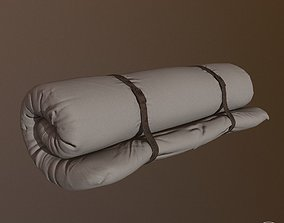 3D model Bed roll for camping