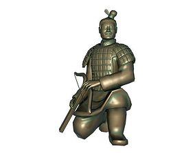 3D model Shooter Terracotta